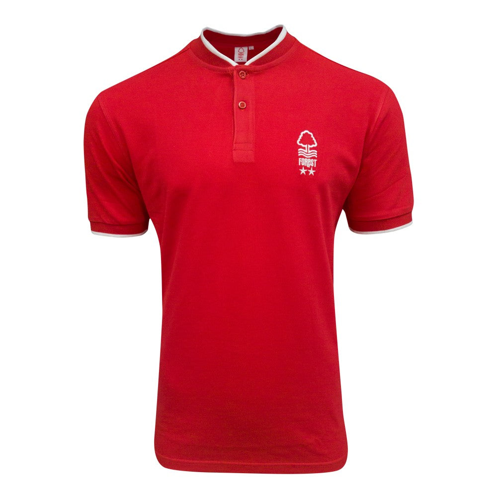 NFFC Mens Red Bomber Pique - Nottingham Forest