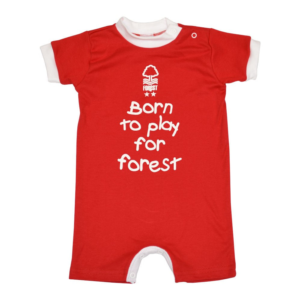 NFFC Baby Red Romper - Nottingham Forest