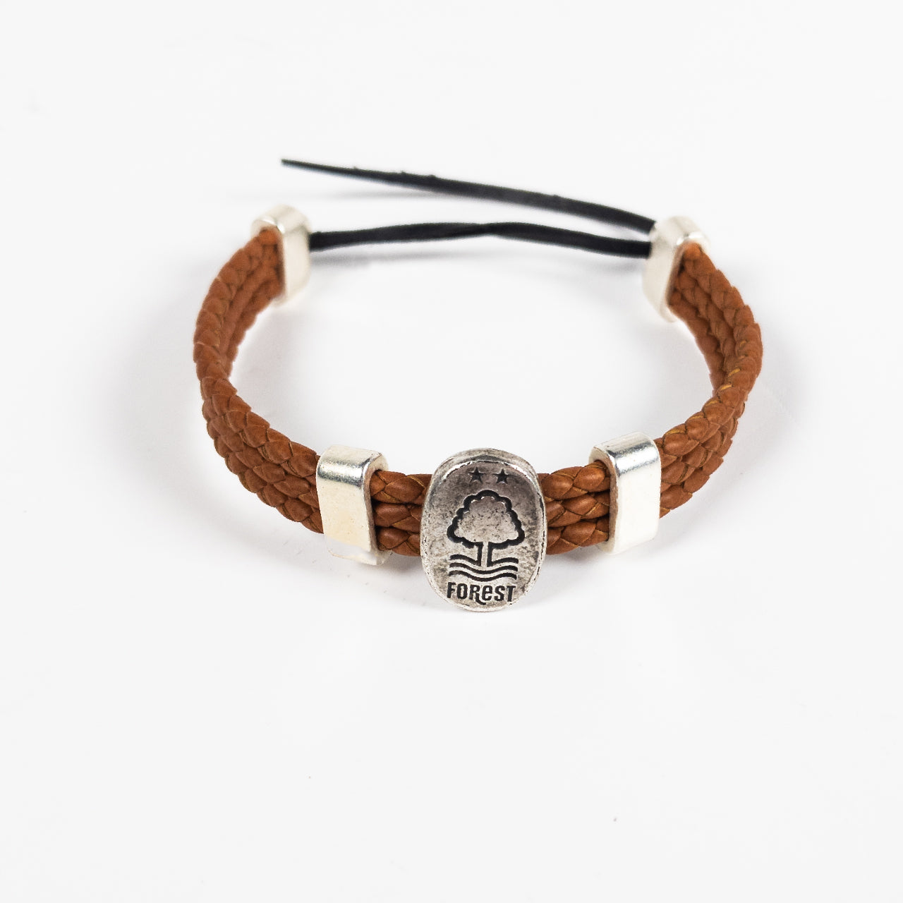 NFFC Brown Rope Bracelet - Nottingham Forest