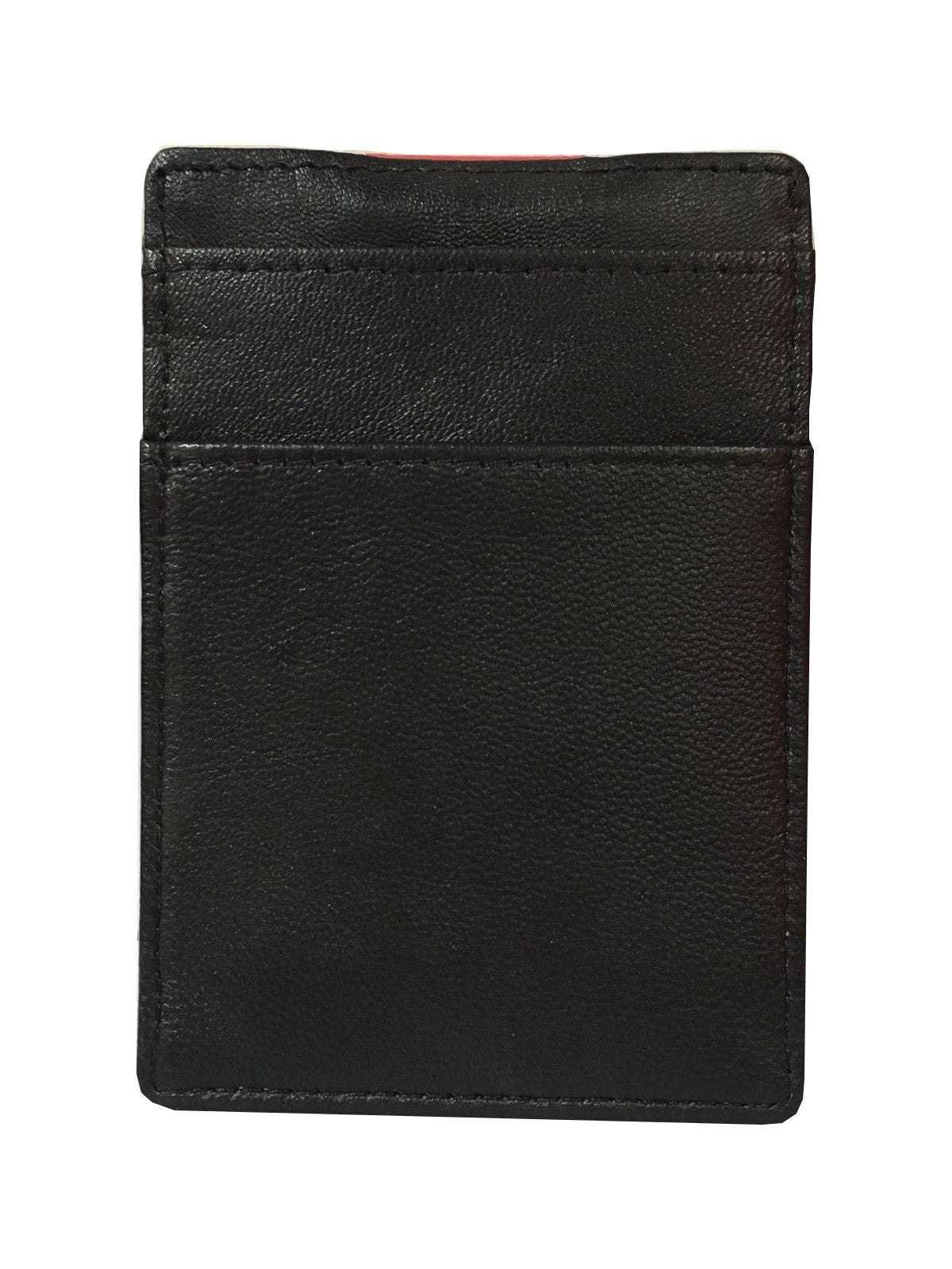 NFFC Black Leather Clip Card Holder - Nottingham Forest