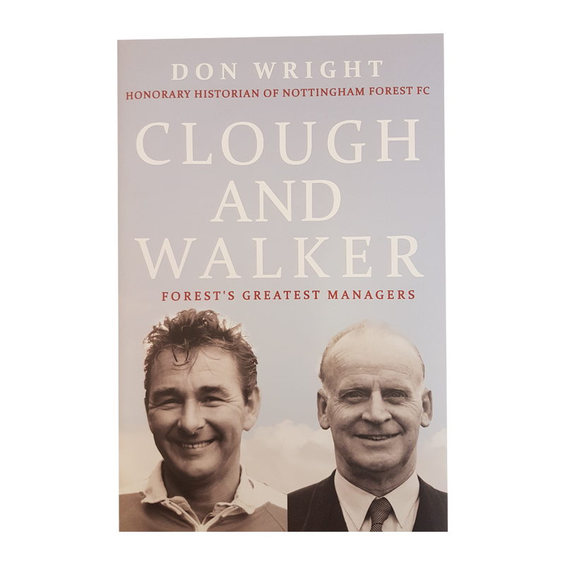 NFFC Clough & Walker Book - Nottingham Forest