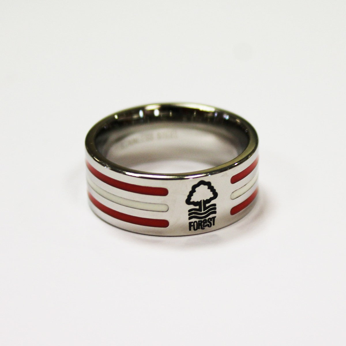 NFFC Colour Stripe Crest Ring