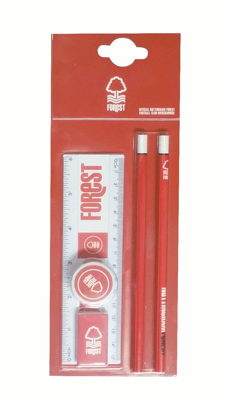 NFFC Core Stationery Set - Nottingham Forest