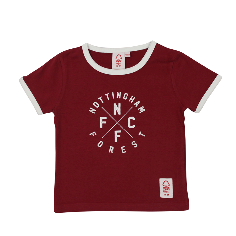 NFFC Infant Cross T-Shirt - Nottingham Forest
