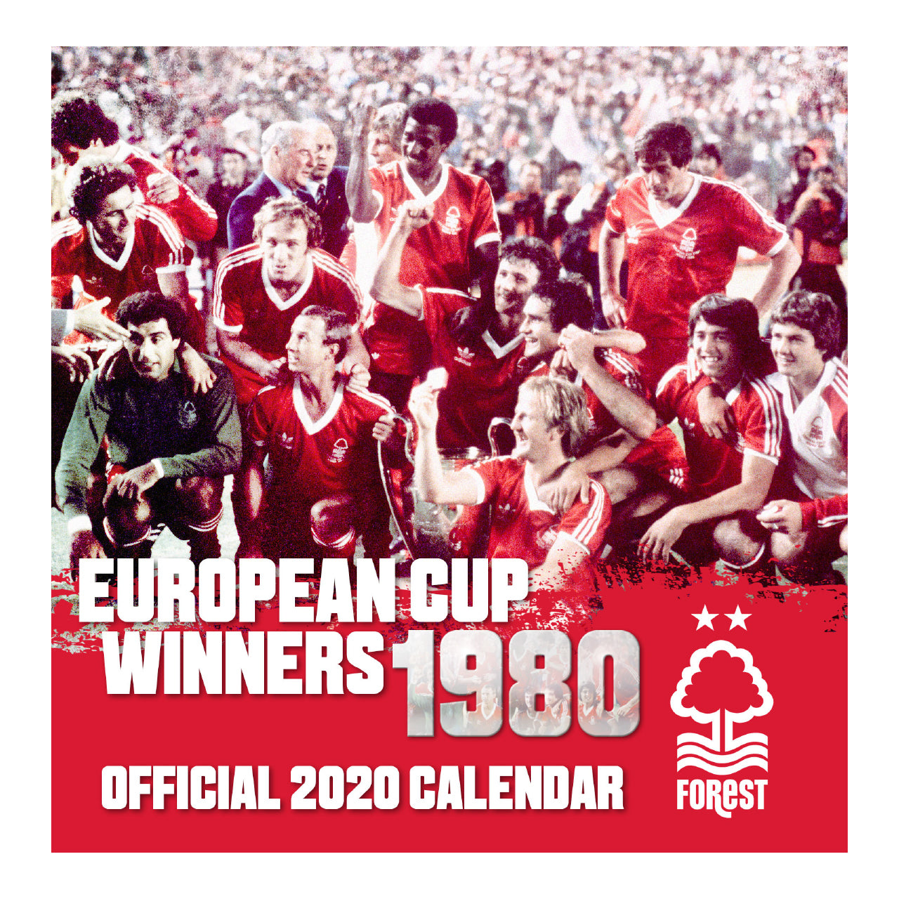 NFFC Desk Calendar 2020 - Nottingham Forest