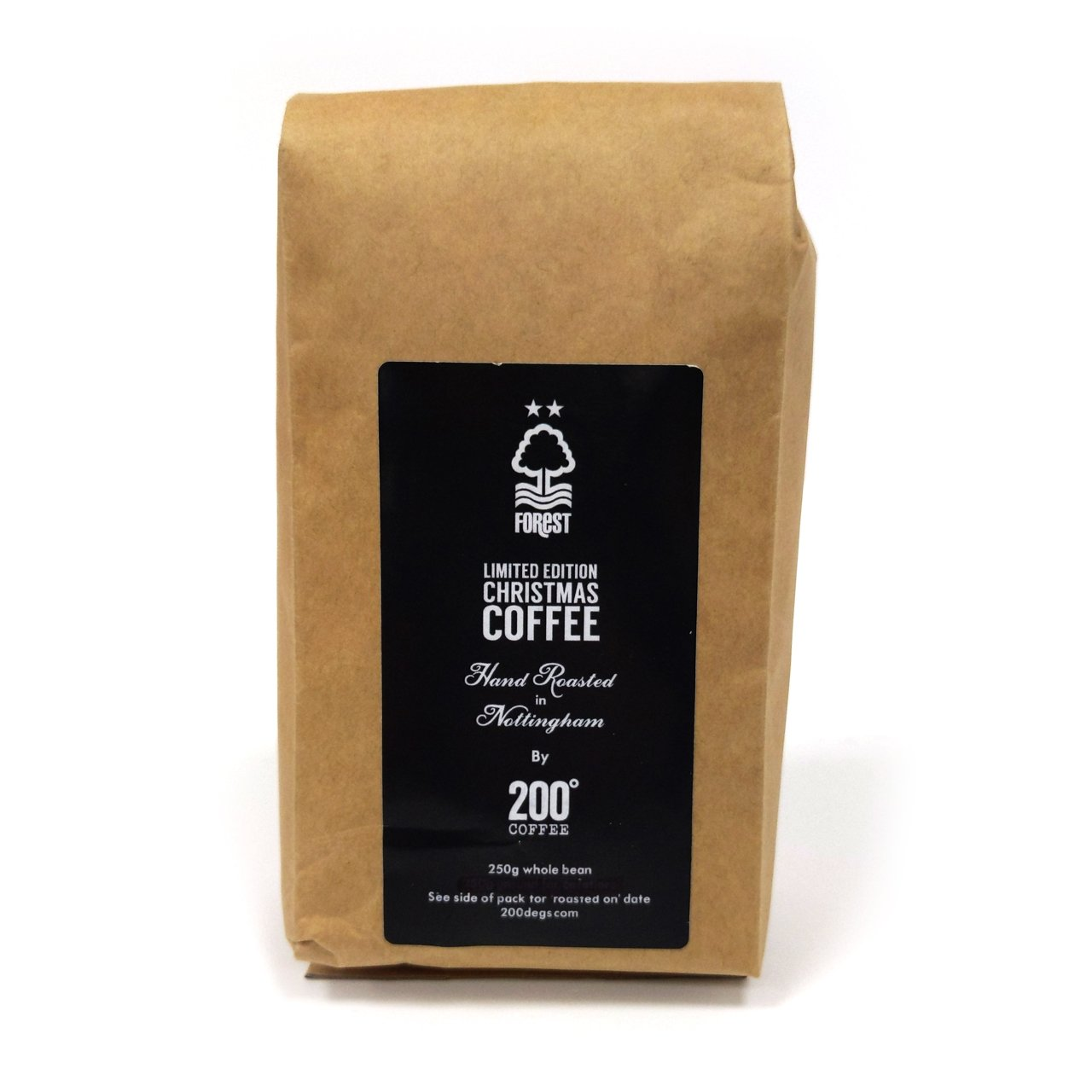 NFFC 200 Degrees Whole Bean Coffee 250g - Nottingham Forest