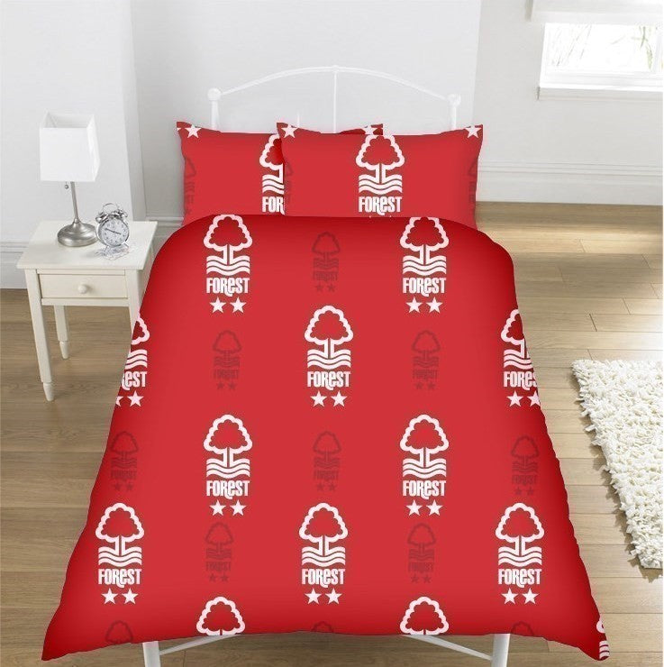 NFFC Double Duvet Cover - Nottingham Forest