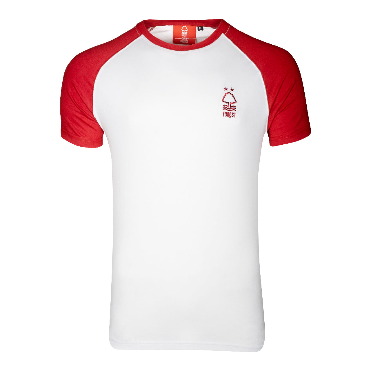 NFFC Mens White Essential Raglan T-Shirt