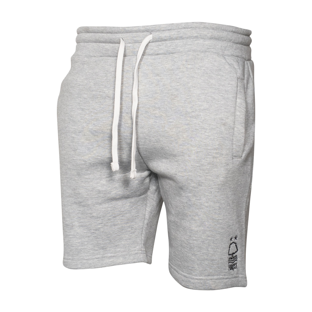 NFFC Mens Grey Marl Essential Sweat Shorts