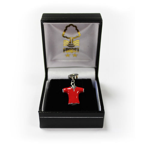 NFFC Football Shirt Bracelet Charm - Nottingham Forest