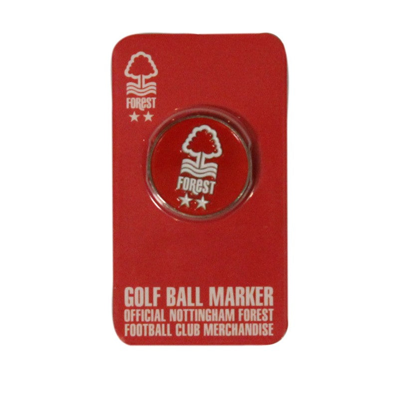 NFFC Golf Ball Marker - Nottingham Forest