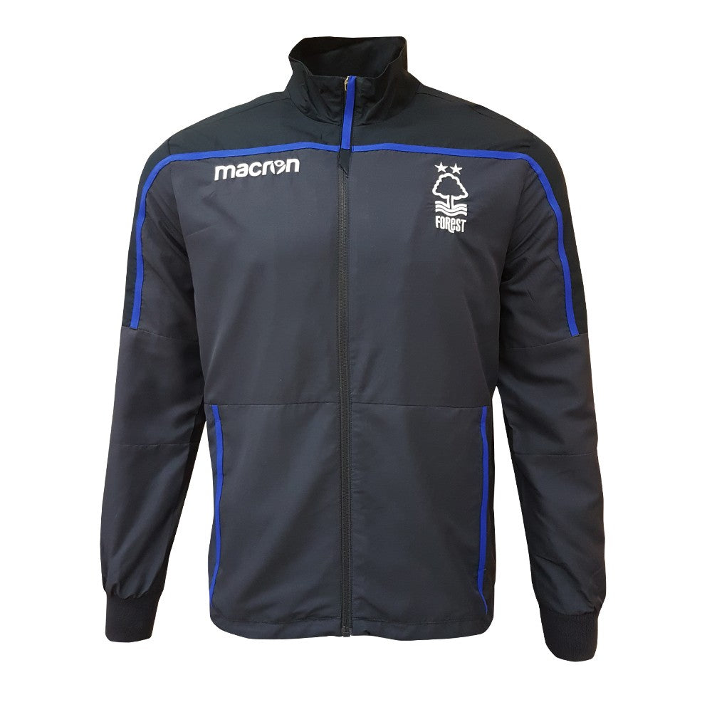 NFFC Mens Navy Microfibre Jacket 18/19 - Nottingham Forest