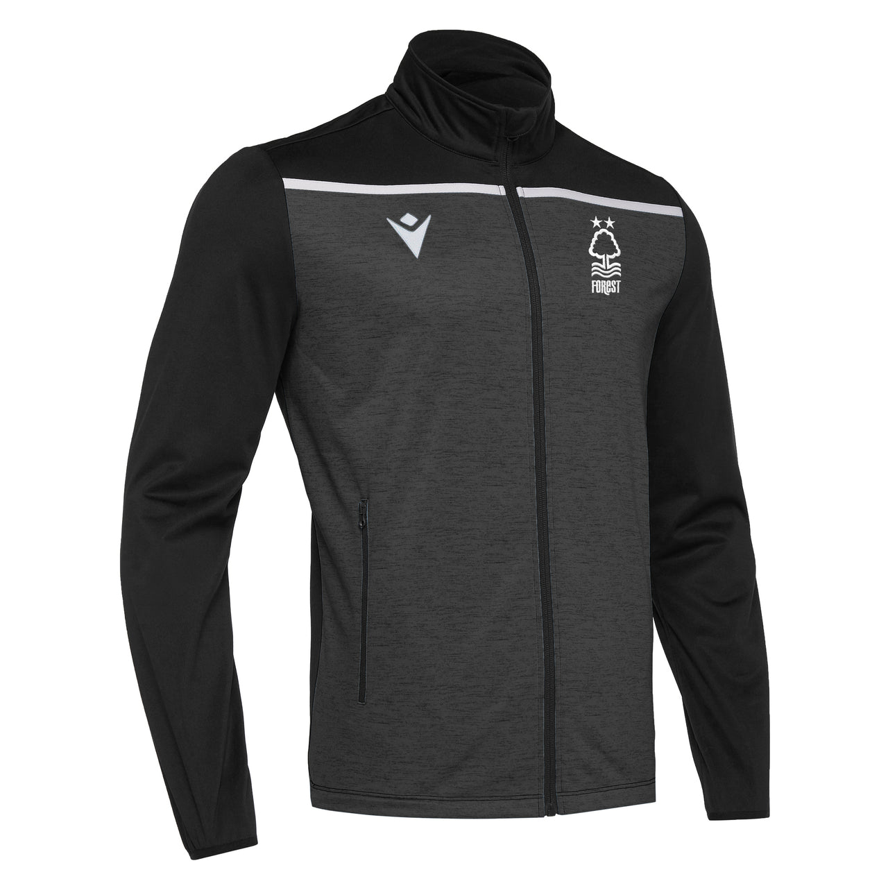 NFFC Junior Black Gea Full Zip