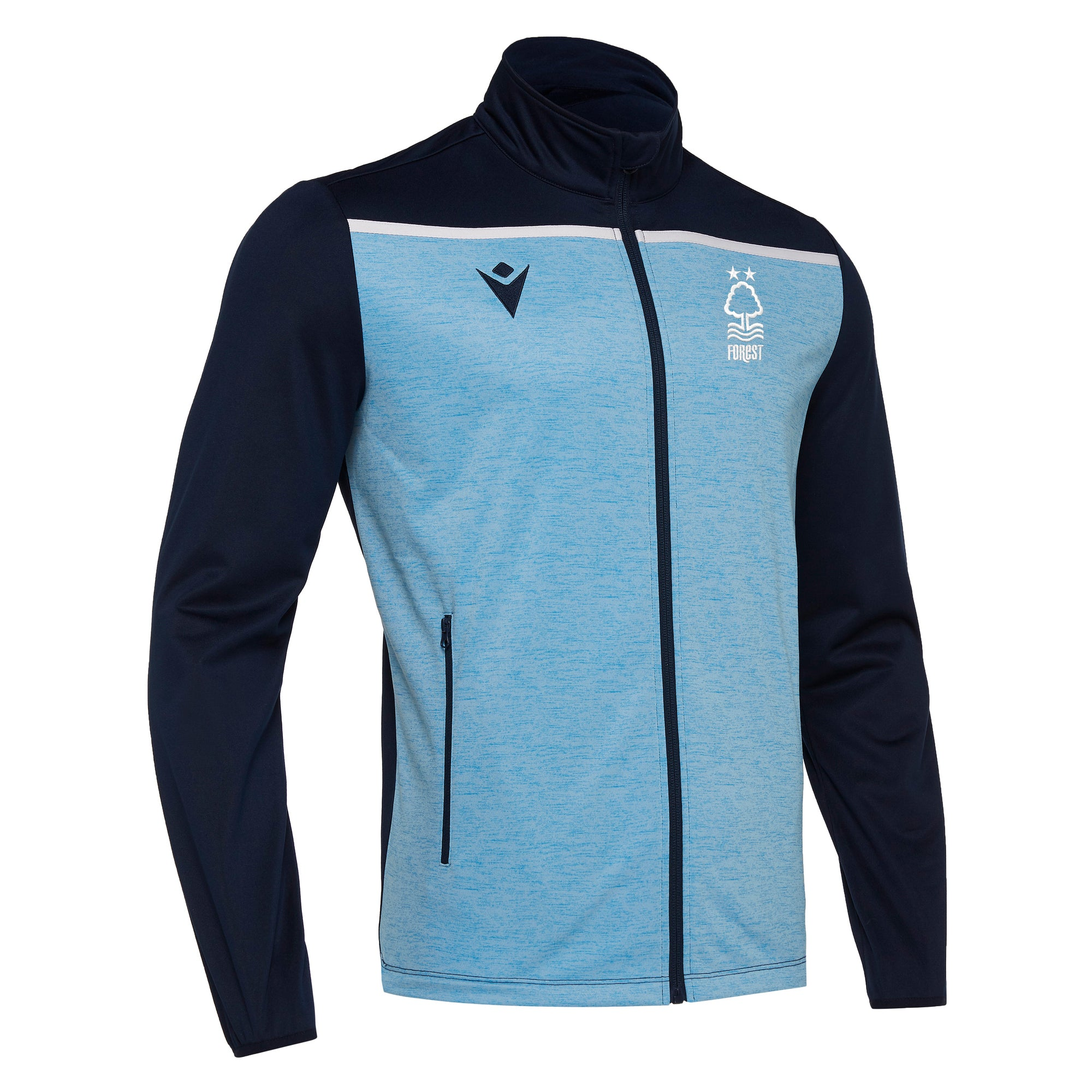 NFFC Mens Blue Gea Full Zip