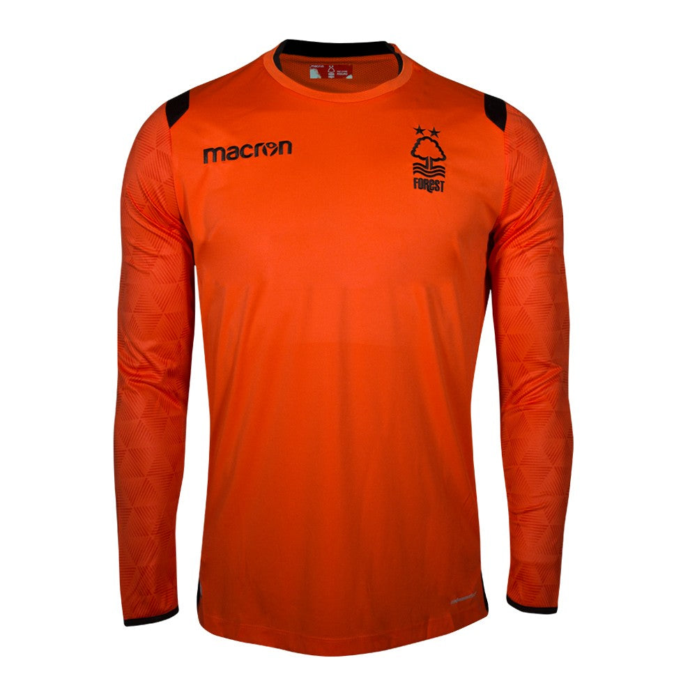 NFFC Junior Orange Goalkeeper Shirt 2018/19 - Nottingham Forest