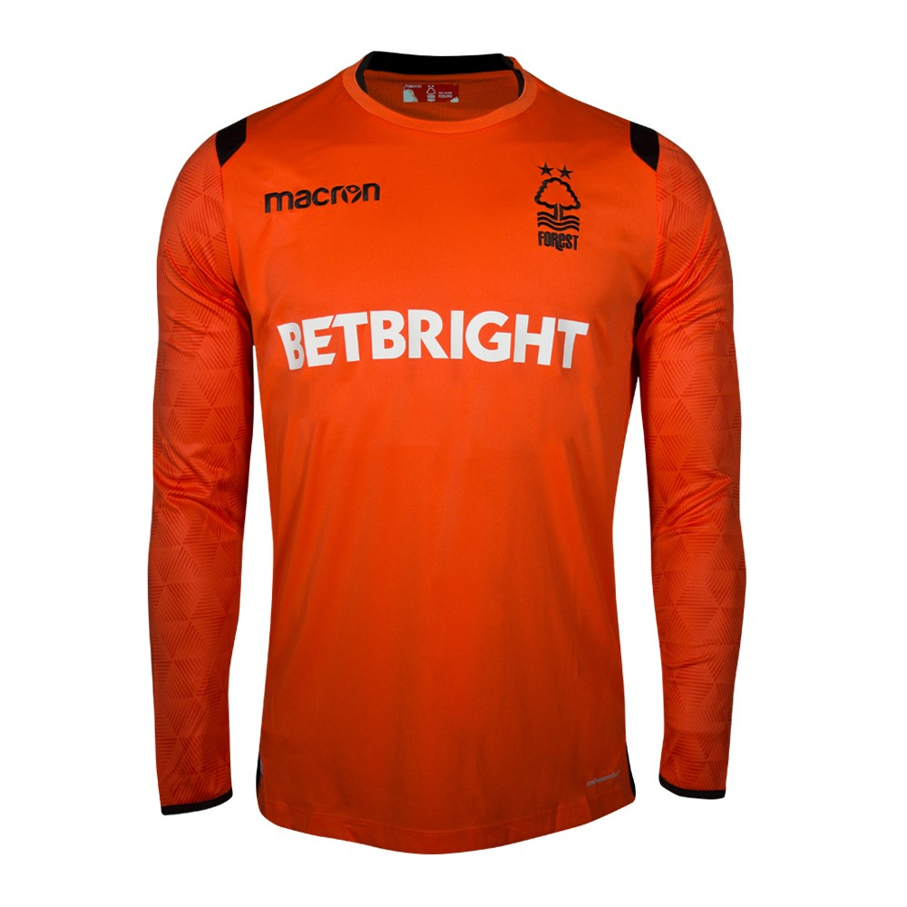 NFFC Mens Orange Goalkeeper Shirt 2018/19 - Nottingham Forest