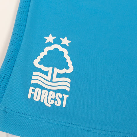 NFFC Mens Blue Goalkeeper Shorts 2019/20