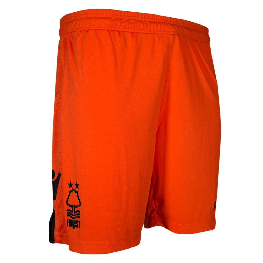 NFFC Mens Orange Goalkeeper Shorts 2018/19 - Nottingham Forest