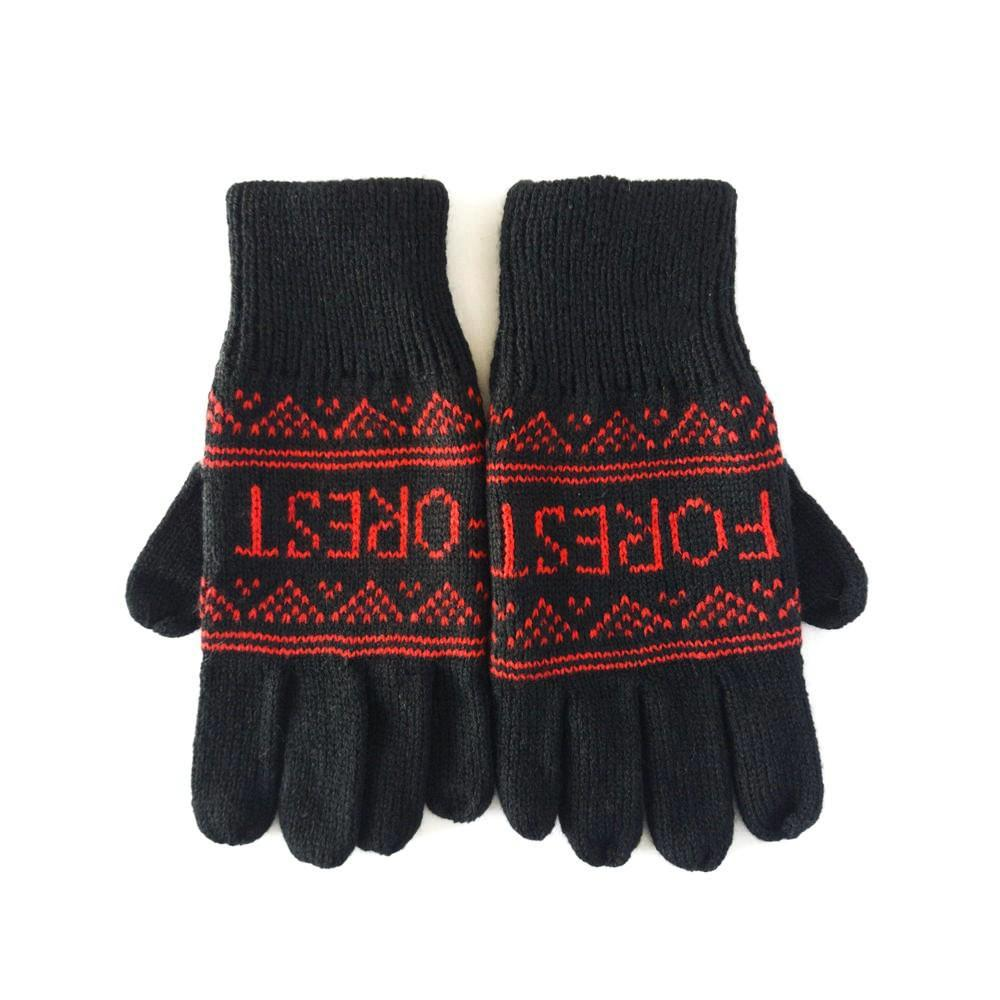 NFFC Adult Derwent Knitted Gloves - Nottingham Forest