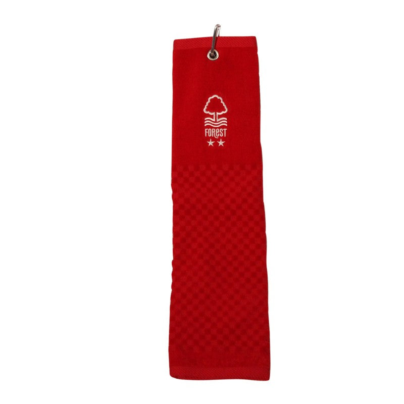NFFC Red Tri-Fold Golf Towel