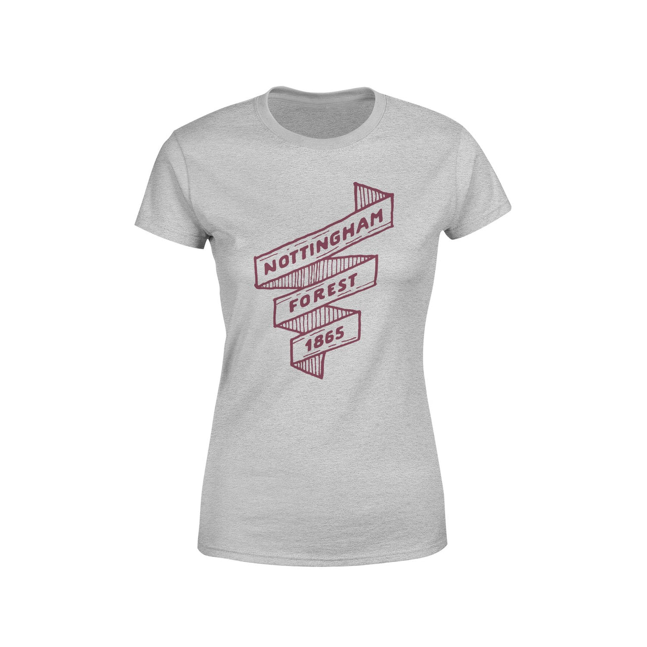NFFC Womens Grey Scroll T-Shirt
