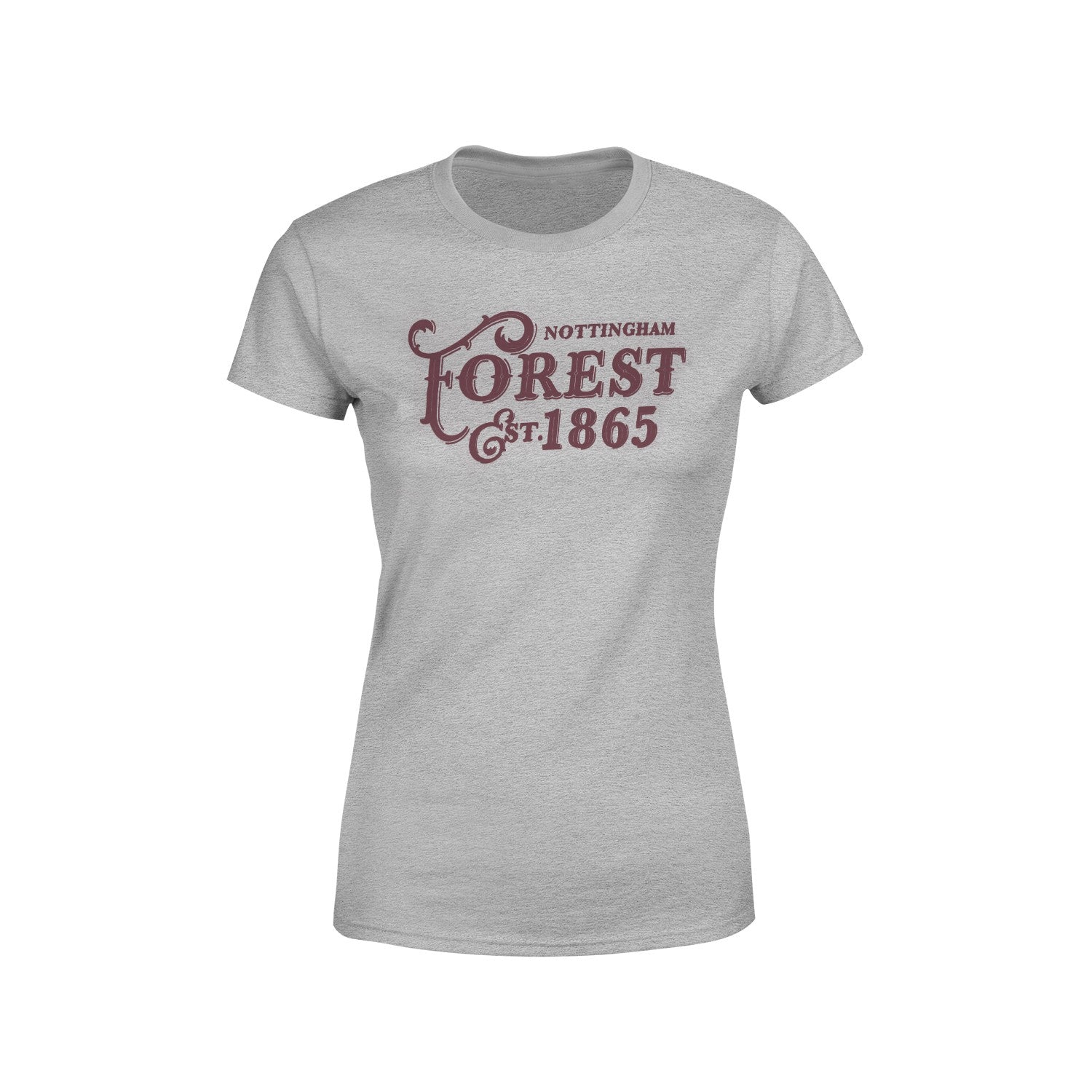 NFFC Womens Grey Est 1865 T-Shirt