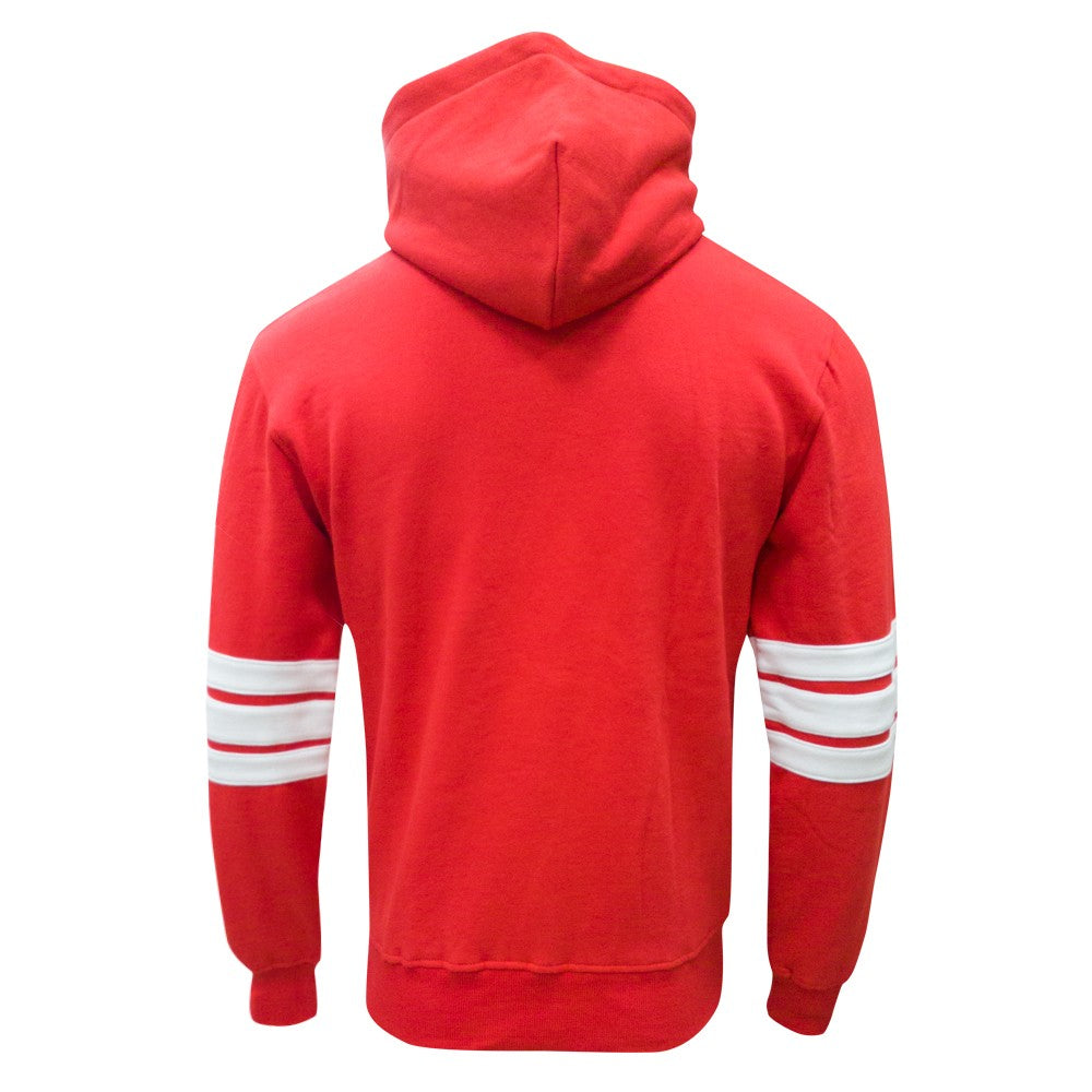 NFFC Mens Red Hockey Hoodie