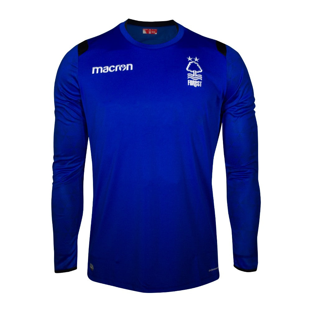 NFFC Junior Blue Goalkeeper Shirt 2018/19 - Nottingham Forest