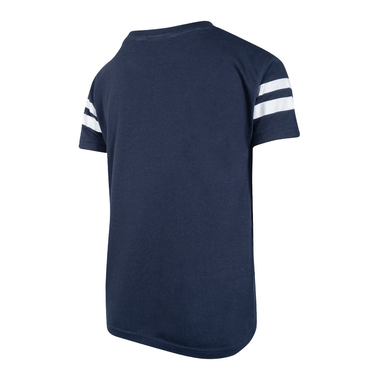 NFFC Junior Navy Essential Stripe T-Shirt