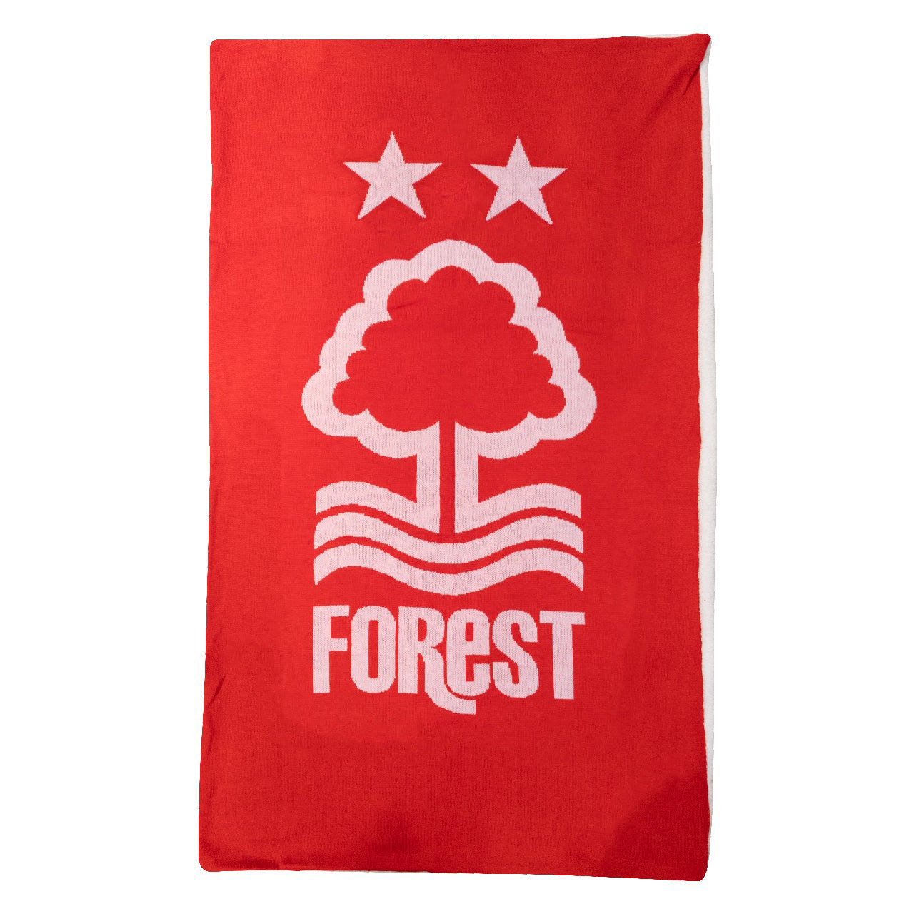NFFC Knitted Sherpa Blanket