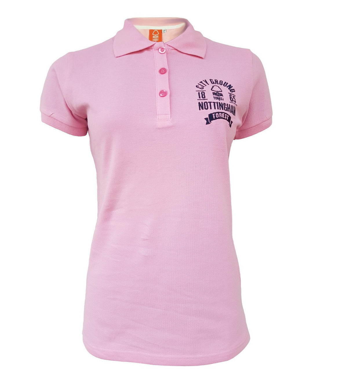 NFFC Womens Pink 1865 Polo