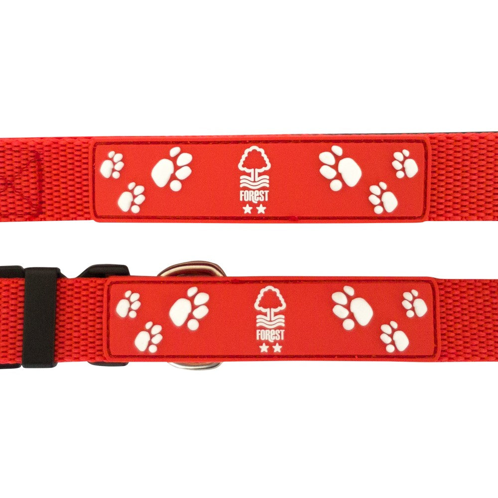 NFFC Dog Collar and Lead - Nottingham Forest