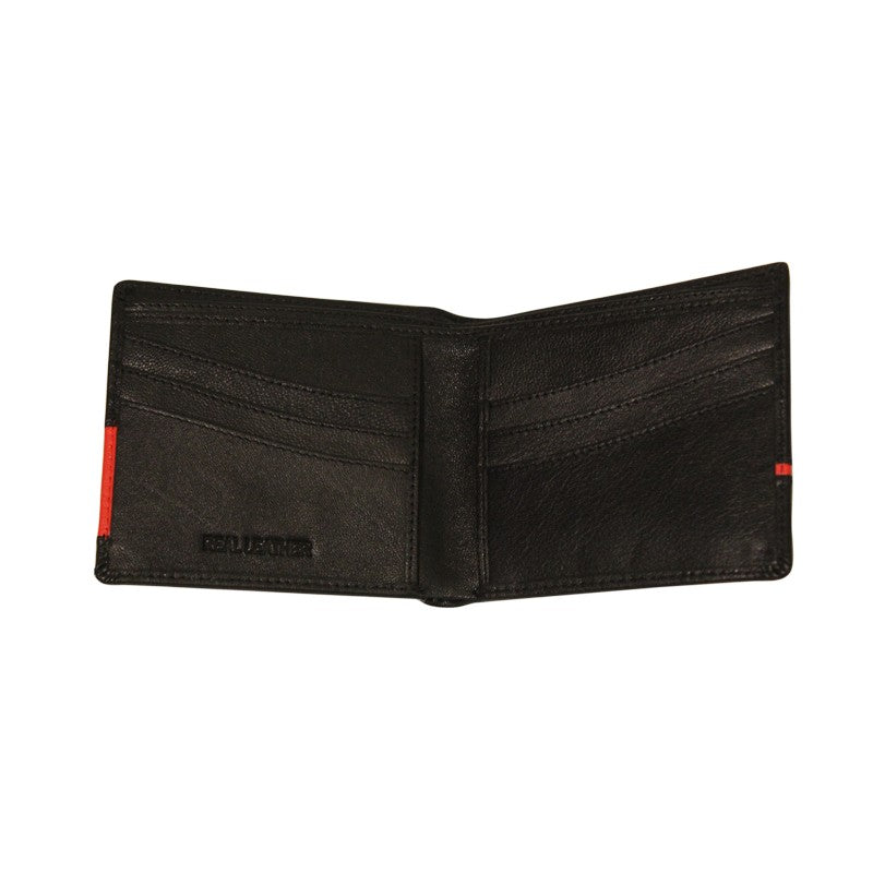 NFFC Black Single Striped Boxed Wallet - Nottingham Forest