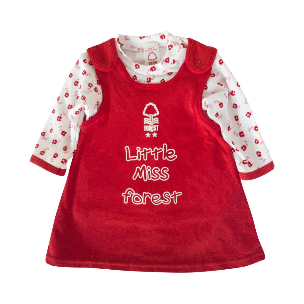 NFFC Baby Pinny Dress - Nottingham Forest