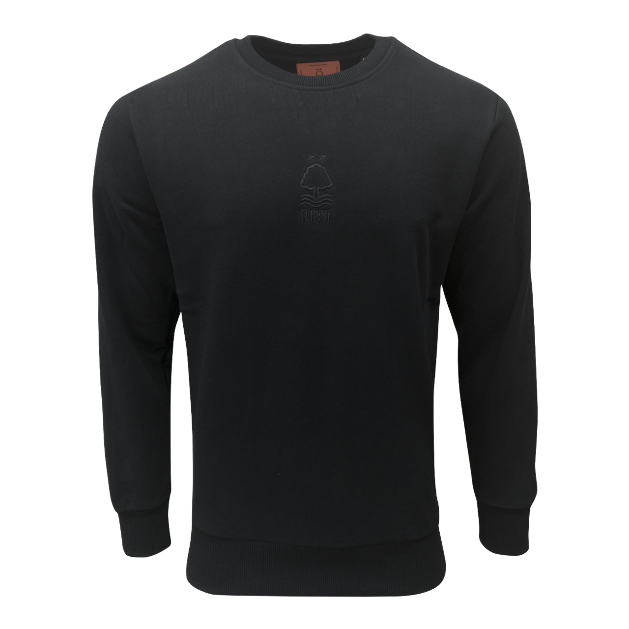 NFFC Mens Black Loving Feeling Sweater - Nottingham Forest