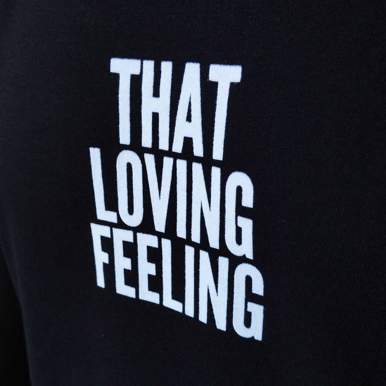 NFFC Mens Black Loving Feeling T-Shirt