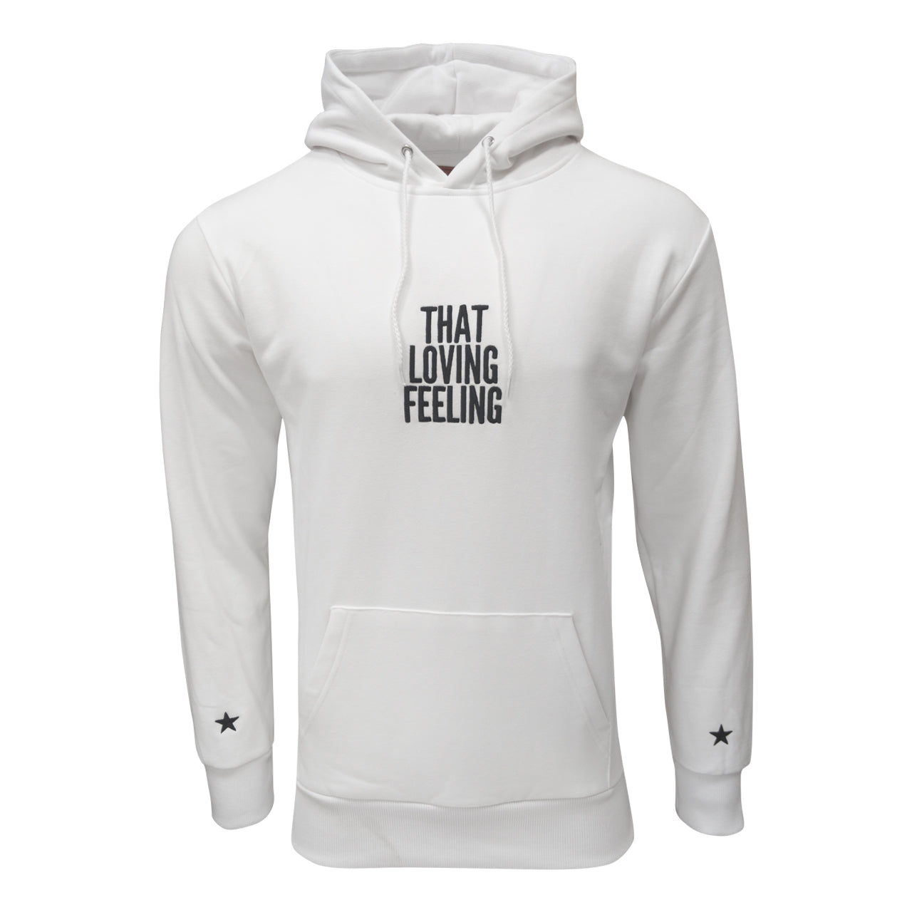 NFFC Mens White Loving Feeling Hoodie - Nottingham Forest