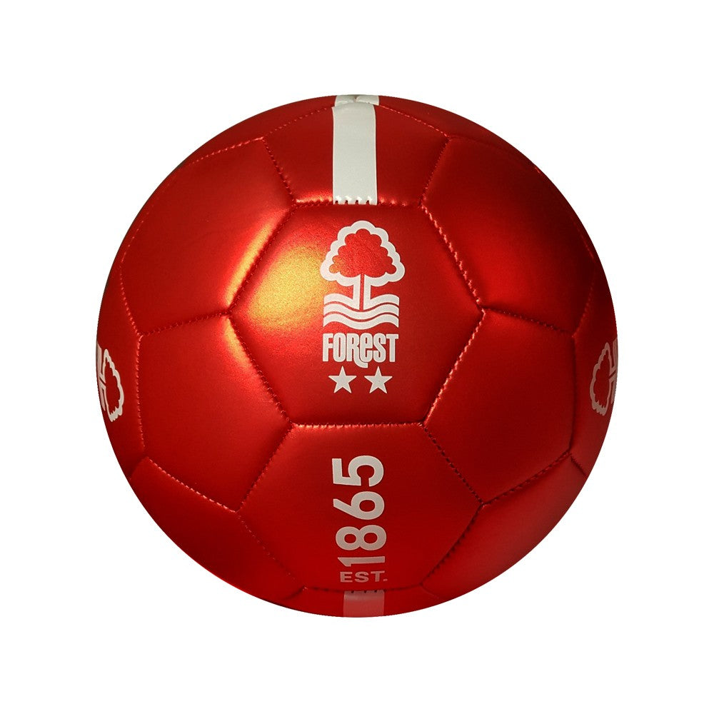 NFFC Red Metallic Size 5 Football