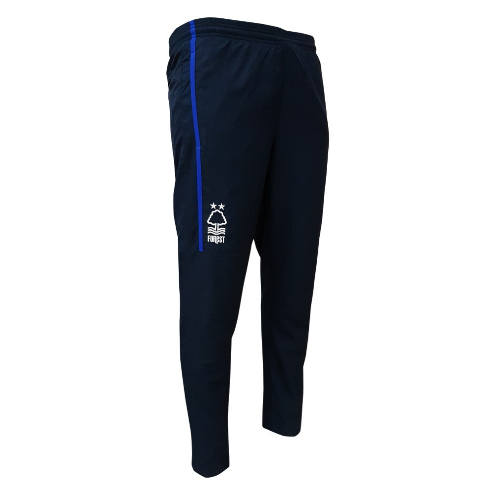 NFFC Mens Navy Micro Fibre Travel Pant 18/19 - Nottingham Forest