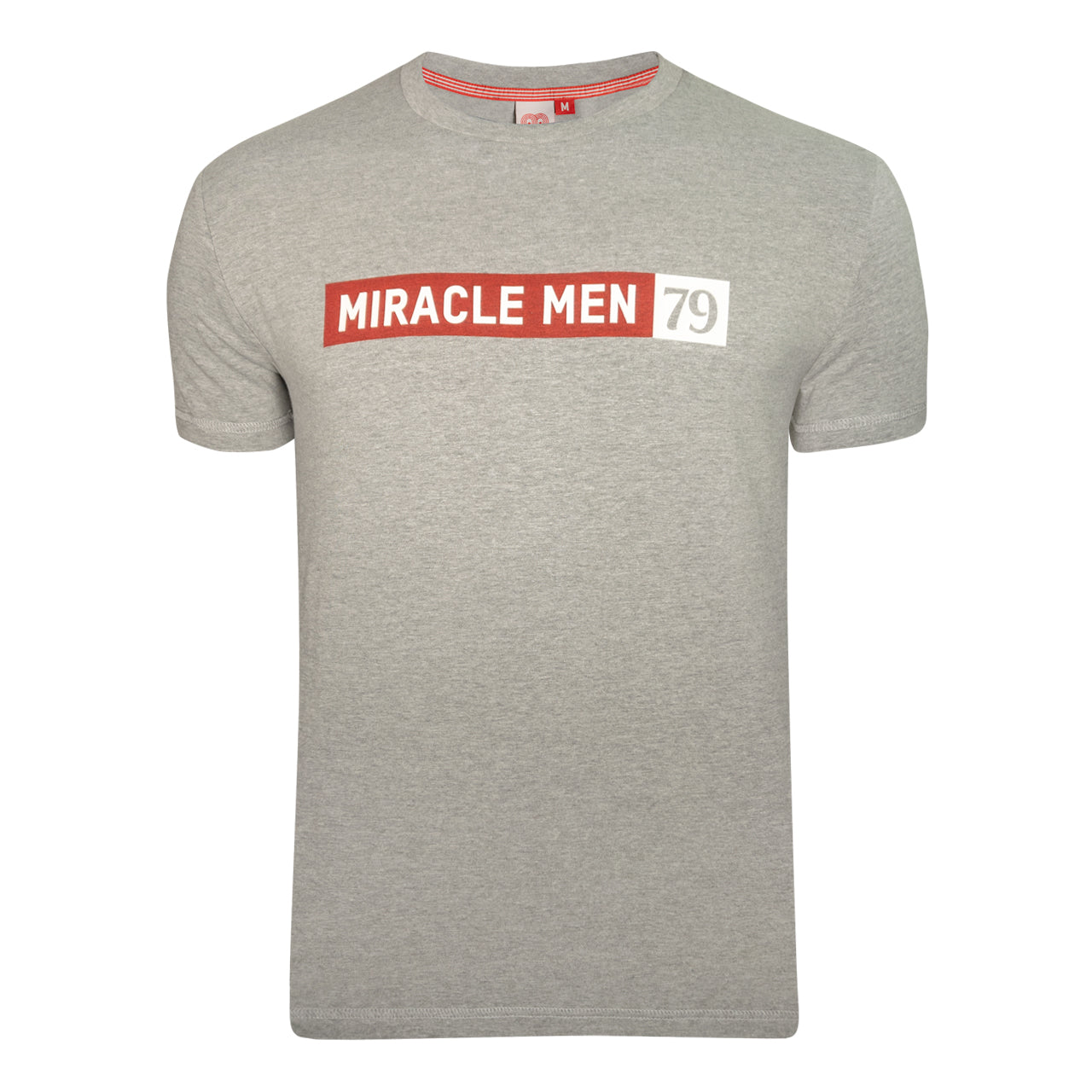 NFFC Mens Grey Slogan T-Shirt