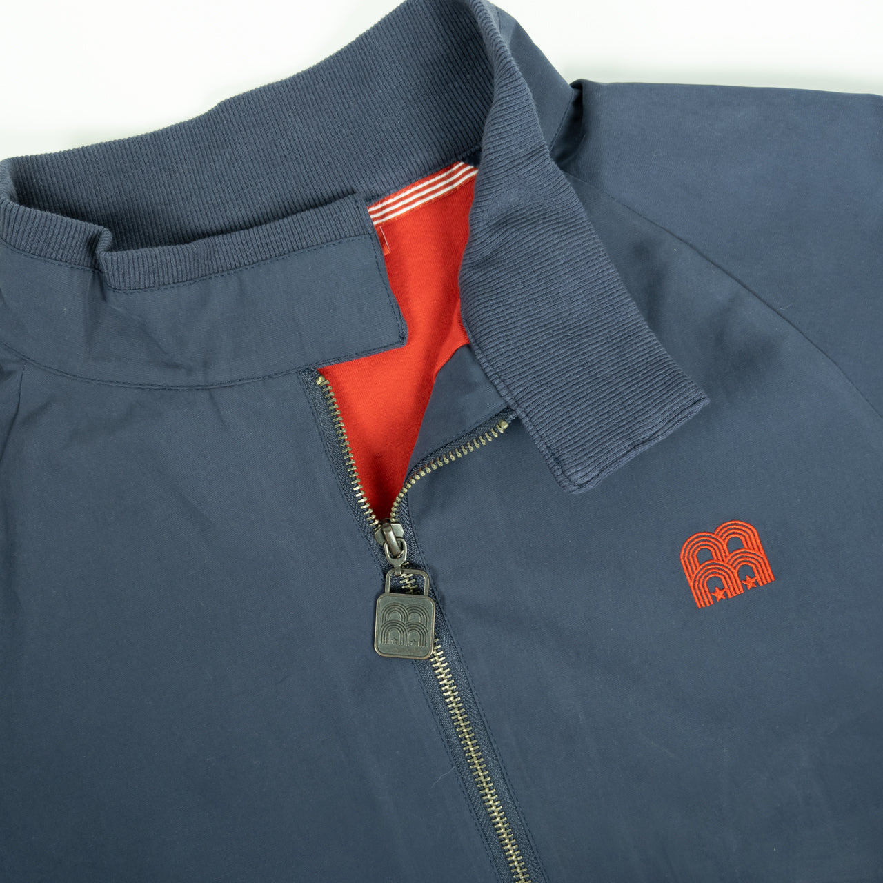 NFFC Mens Navy Harrington Jacket