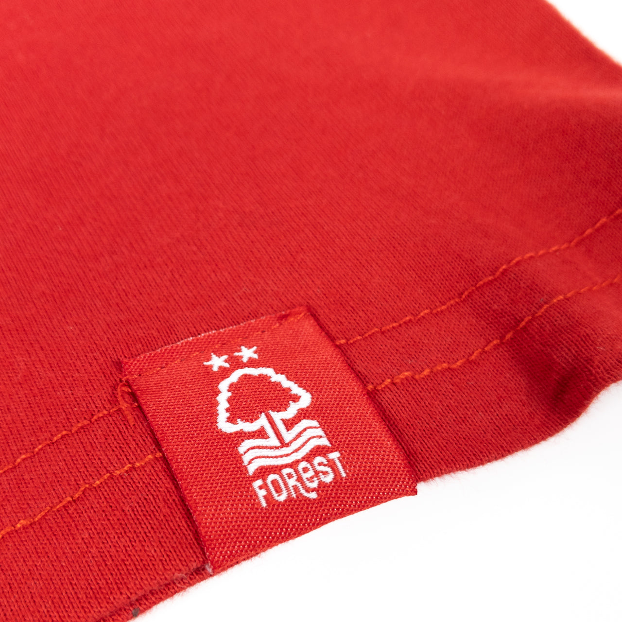 NFFC Mens Red Double Tipped T-Shirt