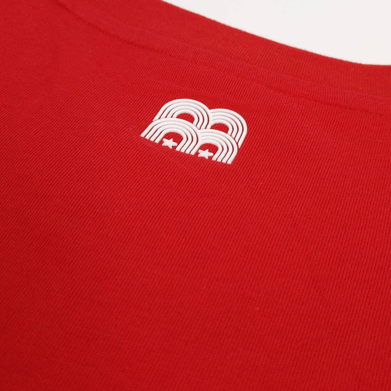 NFFC Mens Red Slogan T-Shirt