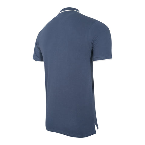 NFFC Men's Navy Crescent Polo
