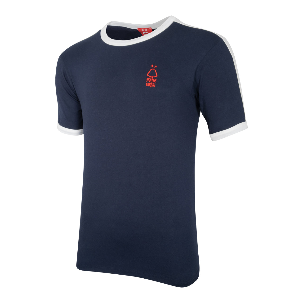 NFFC Mens Navy Essential Ringer T-Shirt