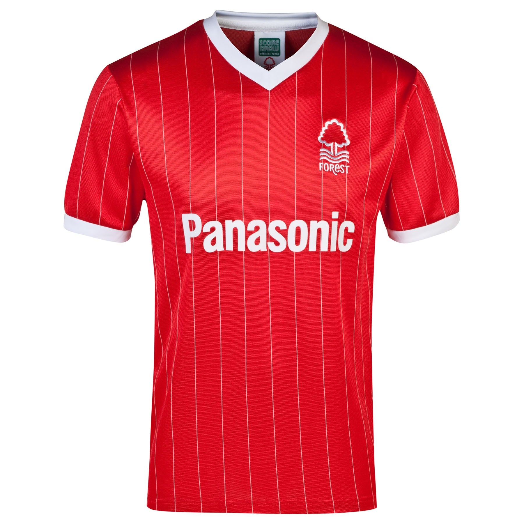 NFFC Mens Retro 1982 Home Shirt - Nottingham Forest