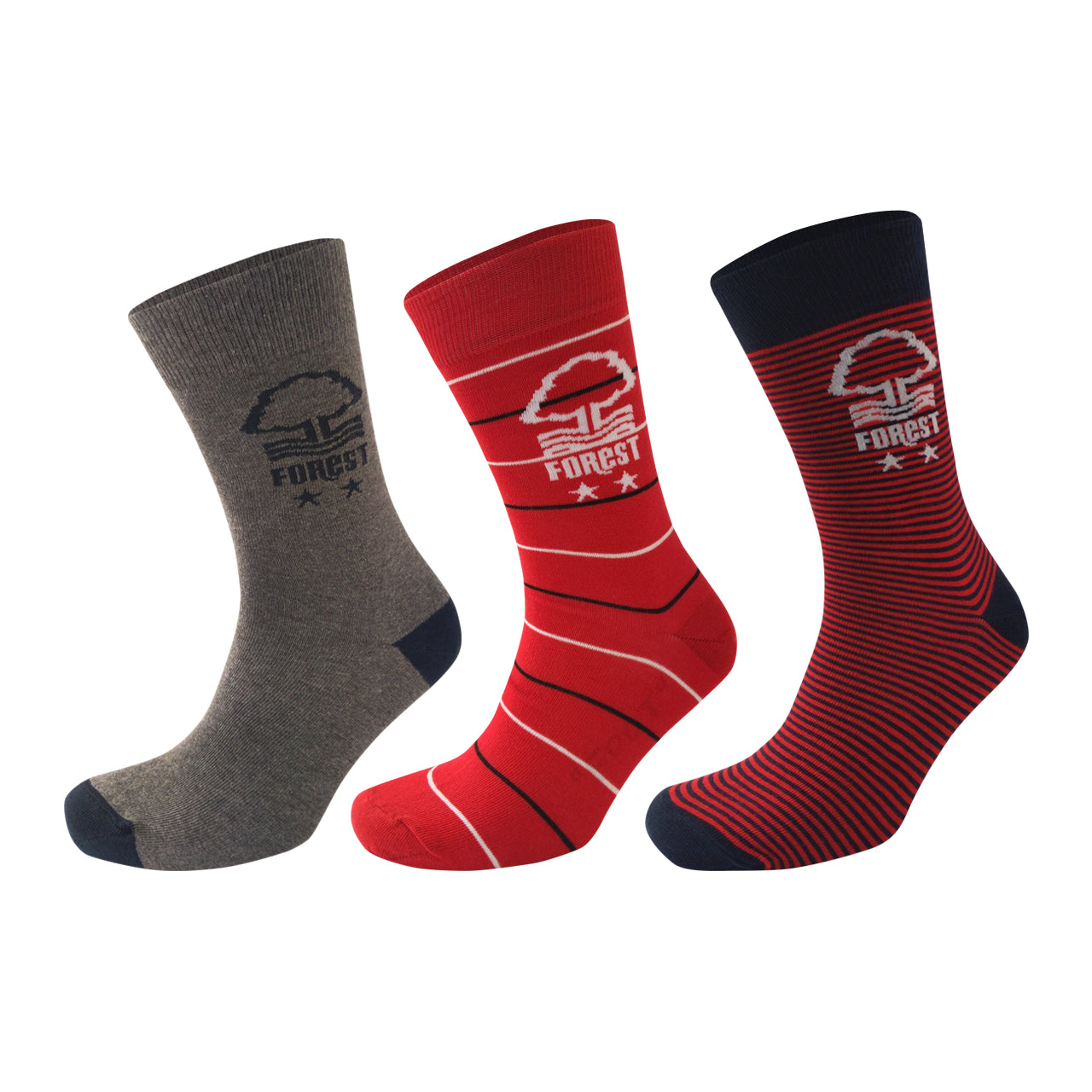NFFC Mens 3 Pack Socks - Size 6-11