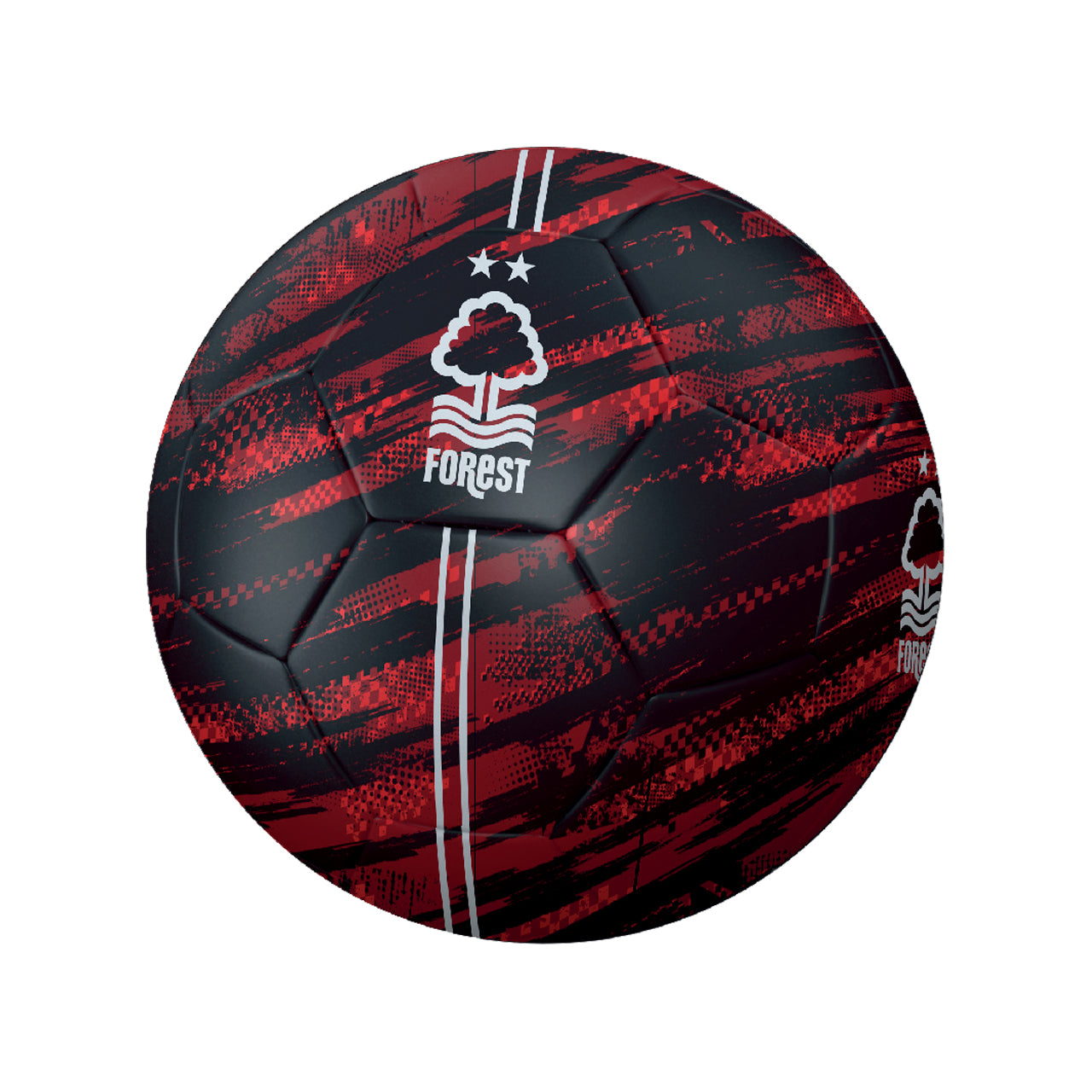 NFFC Black and Red Football - Size 5