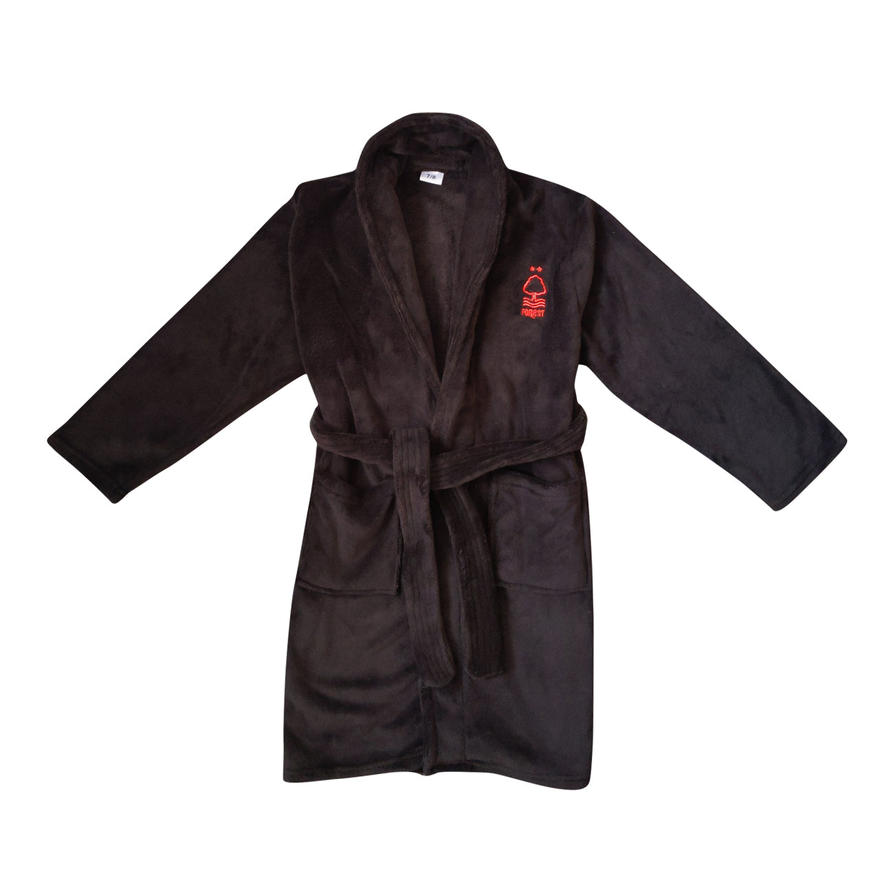 NFFC Junior Black Dressing Gown