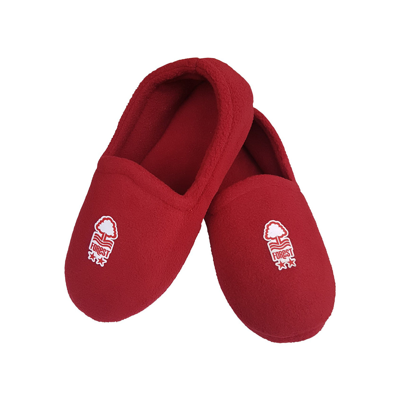 NFFC Mens Burgundy Slippers